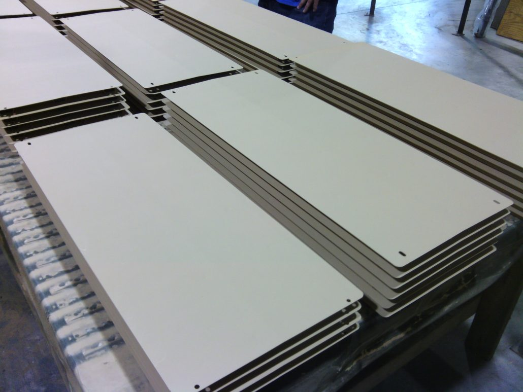 Light Phosphate Coating